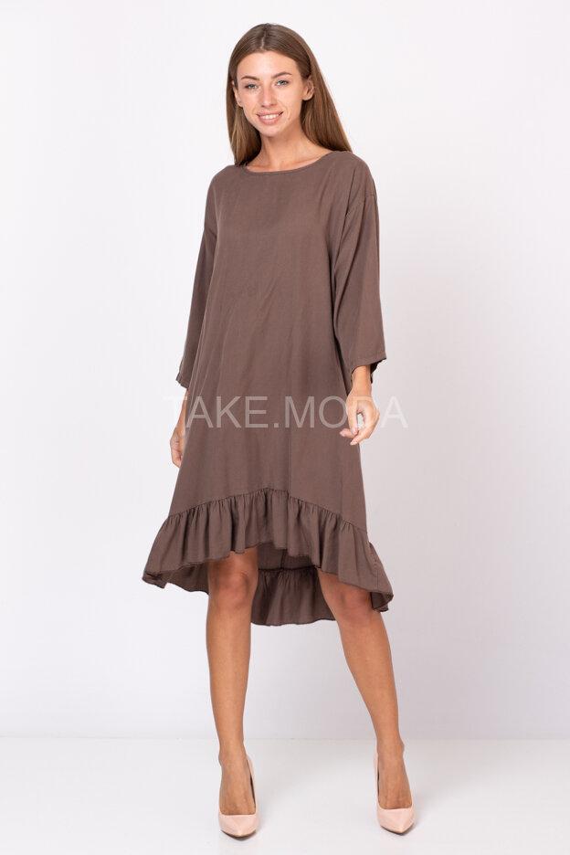 Свободное платье в романтическом стиле