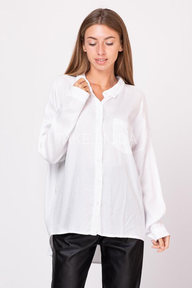 Свободная сорочка из тенселя