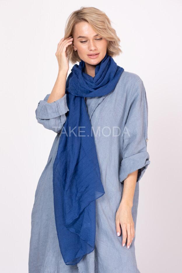 Однотонный вискозный шарф
