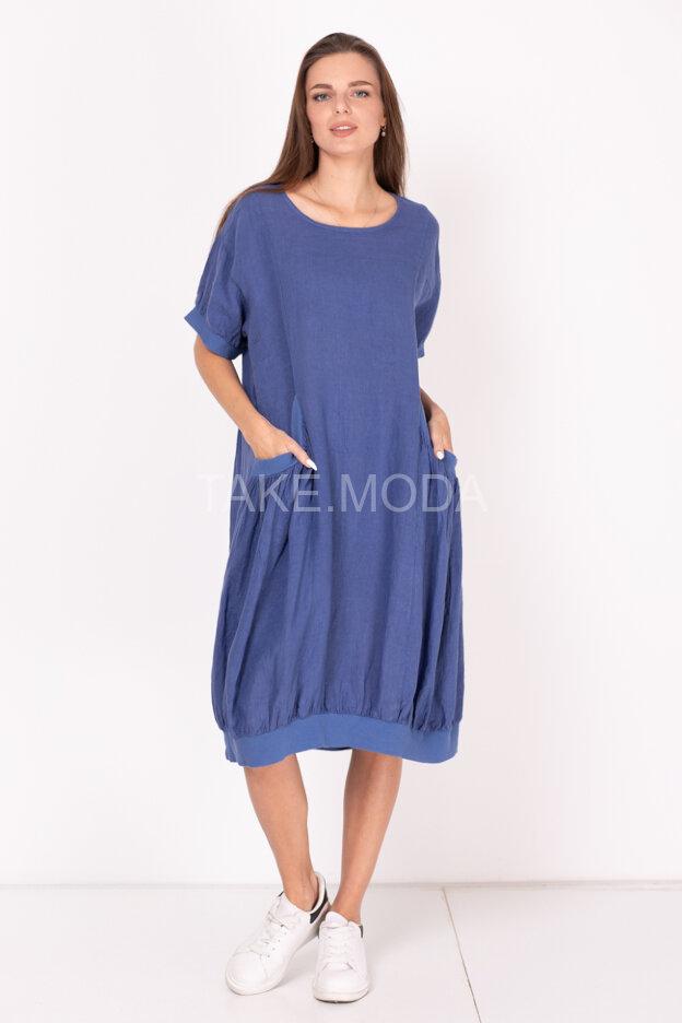 Льняное платье Oversize