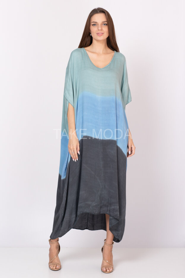 Вискозное платье Oversize