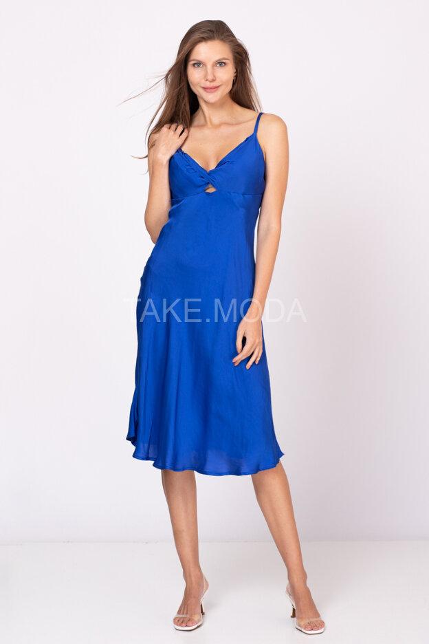 Вискозное платье в романтическом стиле