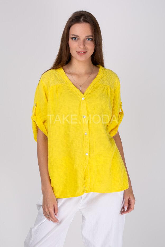 Сорочка украшенная шитьем