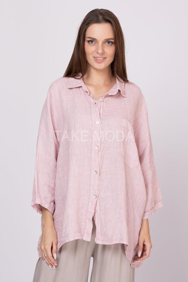 Льняная сорочка Oversize
